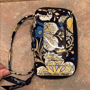 💐5 for 25 Vera Bradley Wristlet wallet blue